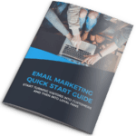 email marketing quick start guide mockup
