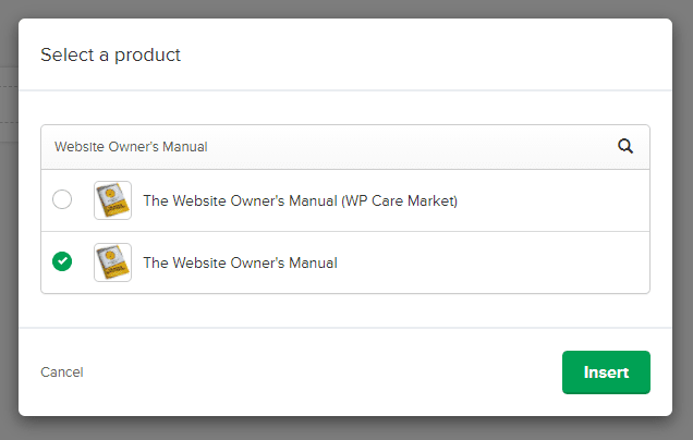 Select A Product